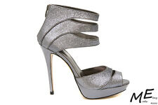 New Charles by Charles David Gazette Pewter Pump Women Sandals Sz8 (MSRP $130)