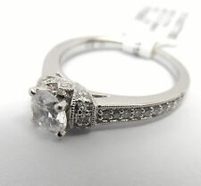 SCOTT KAY M1631R320 RADIANCE COLLECTION 14K WHITE GOLD DIAMOND ENGAGEMENT RING