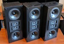 3 Reference THX Lucasfilm Certified Snell LCR 500 Home Theater Cinema Speakers