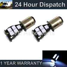 2x 380 Bay15d 1157 Blanco 21 Smd Led Drl sidelight Laterales Bombillos sld201601
