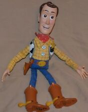 "13.5"" Fire Fightin' Woody Toy Story Toys Action Figures Figurines Hasbro 2004"