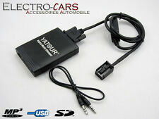 INTERFACE MP3 USB AUDIO AUTORADIO COMPATIBLE PEUGEOT 207 DEPUIS 2006