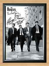 The Beatles John Lennon Paul McCartney Signed Autographed A4 Print Poster Photo