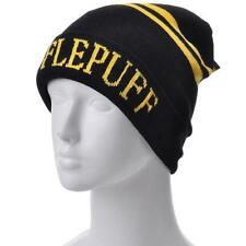 Harry Potter Hufflepuff House Beanie Hat Unisex Knitted Striped New Great Gift