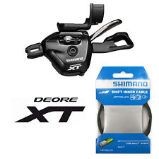 Shimano XT M8000 2/3s Front Shifter with OptiSlick Cable and iSpec Mount - NEW