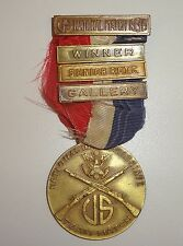 1936 National Riffle Shooting Match ROTC Winner Medal