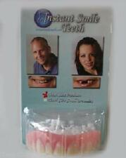 SECURE INSTANT SMILE False Fake Cosmetic Dentures Teeth Oral Dental Veneers