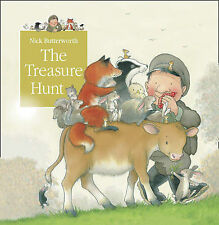 Nick Butterworth Tales From Percy's Park - The Treasure Hunt Very Good Book