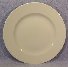 "Churchill Hotel Ware Super Vitrified BS4034 WHITE 12 1/2"" Plates-Lot of 6"