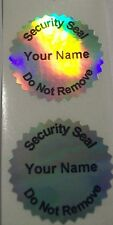 100 Custom Print GR Certificate Hologram Tamper Evident Security Seals