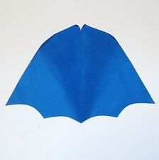 1970's MEGO WGSH BATMAN Blue CAPE Action Figure part clothing accessory