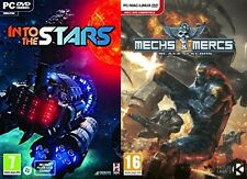 into the stars & mechs and mercs black talons    new&sealed