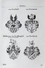 1836 4 STEMMA Graßhoff Graumann Hoffmann di greiffenpfeil Groddeck tyroff