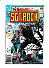 """SGT. ROCK #344  [1980 NM-]  """"NAKED SOLDIER"""""""
