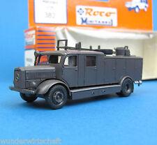 Roco Minitanks H0 382 MERCEDES LF 25 EDW Feuerwehr WWII Wehrmacht OVP HO 1:87