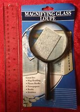"Jumbo Magnifying Glass 7 1/4"" - Hand Held New Sewing Hobbies Reading Maps"