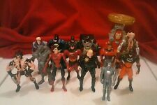 Marvel & DC Comics Action Figure Lot Batman X-Men Iron Man