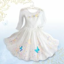 Disney Store Cinderella Live Wedding Gown Dress Costume Princess Size 3