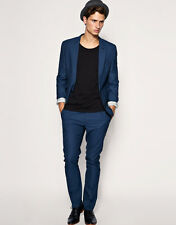 * ~ { ASOS - Slim Fit Jacket - Electric Blue - 38in Chest } ~ *
