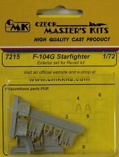 CMK 1/72 F-104G Starfighter Exterior set # 7215