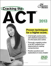 Cracking the ACT with DVD, 2013 Edition (College Test Preparation)