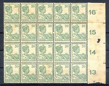 NED INDIE # 120 (20 x) KW € 300  ** MNH PF TROPISCH  TROPIC STAINS  @2