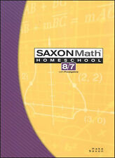 Saxon Math 87 Student Book Textbook 3rd Edition