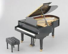New!! Genuine SEGA TOYS Black Grand Pianist 1/6 scale miniature grand piano F/S