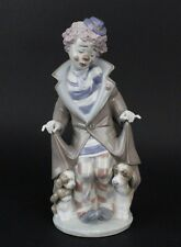 Retired LLADRO Spain Surprise 5901 Circus Clown Dogs Porcelain Figurine NR SMS
