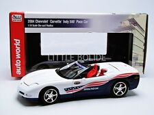AUTO WORLD 1/18 CHEVROLET Corvette Cabriolet 2004 - Indy 500 Pace Car AW204
