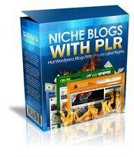 18 Hot Niche Blogs With PLR - Make Money with AdSense - Amazon - Clickbank