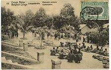 BELGISCH / BELGIUM / CONGO BELGE / LEOPODVILLE CHAMEAUX PORTEURS