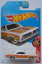 2017 Hot Wheels HW FLAMES 9/10 '68 Plymouth Barracuda Formula S 87/365 (White)
