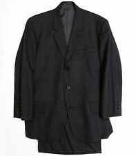 Yohji Yamamoto Y's for men Single Breasted Unique Check Suit Jacket/Pants Gray
