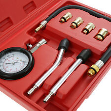 Easy Carring Petrol Gas Engine Cylinder Compression Tester Gauge Kit PK