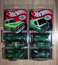 2012 Hot Wheels Toys R Us Kmart Mail In Complete Set Dairy Beetle A100 Panel New