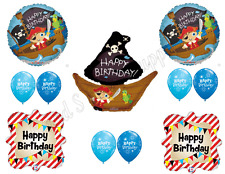 PIRATE SHIP Birthday Balloons Decoration Supplies Party Skull Crossbones Boy