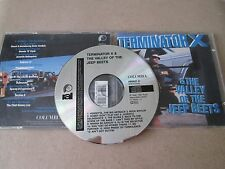 Terminator X & The Valley Of The Jeep Beets CD EARLY ISSUE NEAR MINT