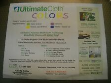 ULTIMATE Cleaning CLOTH MiraFiber COLORS PACK of 4 EACH STREAK & SCRATCH FREE!