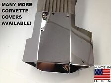 Corvette chrome look C4 1985-1991 L98 Stainless 4Pc DISTRIBUTOR COVER COVER