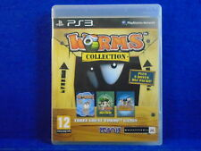 *ps3 WORMS COLLECTION (No Manual) Ultimate Mayhem+Armageddon Playstation PAL