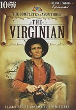 The Virginian TV Series Complete Season 3 DVD NEW!