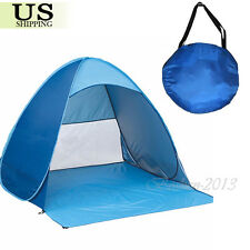 Portable Foldable Outdoor Travel Picnic Camping Beach Tent Sun Shade Shelter USA