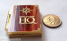 ☆ 2013 Lackey Geocoin Logbook HQ HUGE  Movable Unactivated Trackable