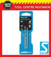 SUTTON #3 EASY-OUT SCREW EXTRACTOR WITH DRILL BIT – SUIT M8 – M10 SCREW / BOLT