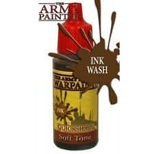 Army Painter BNIB Warpaint - QS Soft Tone Ink