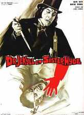 Dr Jekyll And Sister Hyde Poster 03 Metal Sign A4 12x8 Aluminium