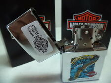 ZIPPO LIGHTER FEUERZEUG HARLEY DAVIDSON EAGLE H 62 CHROME DISCOUNT NEW