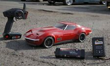 Vaterra 1/10 Scale 1969 Custom Corvette V100-S RTR 4WD RC Car 2.4 VTR03022