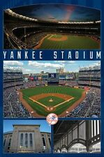 NEW YORK YANKEES - YANKEE STADIUM POSTER - 22x34 MLB BASEBALL 14522